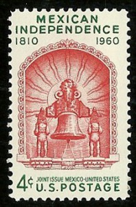 Stamp-Mexican-independence